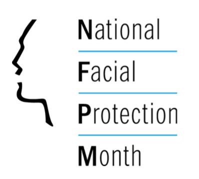 National Facial Protection Month Logo